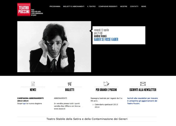 Home page Teatro Puccini