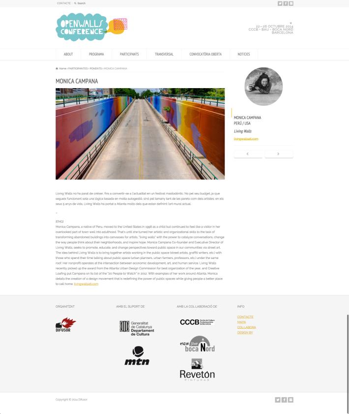 speaker page